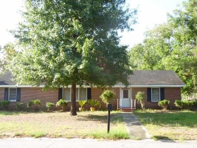 Lake Blackshear, Cordele, Warwick, Arabi, Ashburn, Rebecca, Sycamore Single Family Home For Sale: 514 E 18th Avenue