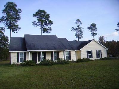 Lake Blackshear, Cordele, Warwick, Arabi, Ashburn, Rebecca, Sycamore Single Family Home For Sale: 123 Ray Road