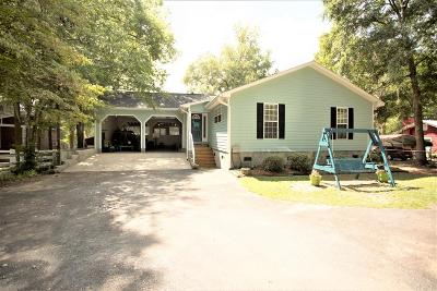 Lake Blackshear, Cordele, Warwick, Arabi, Ashburn, Rebecca, Sycamore Single Family Home For Sale: 259 N Cedar Creek