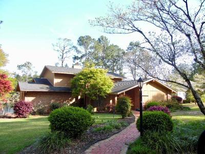 Lake Blackshear, Cordele, Warwick, Arabi, Ashburn, Rebecca, Sycamore Single Family Home For Sale: 286 Eastwood Lake Dr.