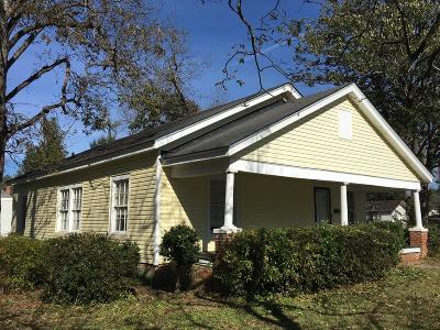 Lake Blackshear, Cordele, Warwick, Arabi, Ashburn, Rebecca, Sycamore Single Family Home For Sale: 407 E 15th Ave