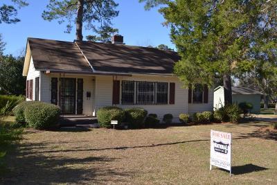 Lake Blackshear, Cordele, Warwick, Arabi, Ashburn, Rebecca, Sycamore Single Family Home For Sale: 810 S 4th Street