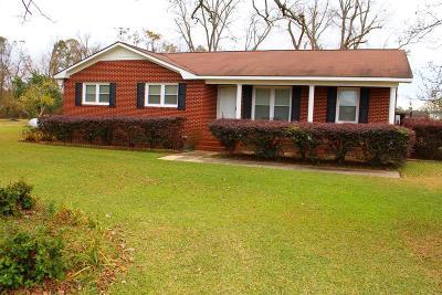 Lake Blackshear, Cordele, Warwick, Arabi, Ashburn, Rebecca, Sycamore Single Family Home For Sale: 6555 Highway 313