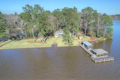 Lake Blackshear, Cordele, Warwick, Arabi, Ashburn, Rebecca, Sycamore Single Family Home For Sale: 515 N Cedar Creek Rd.