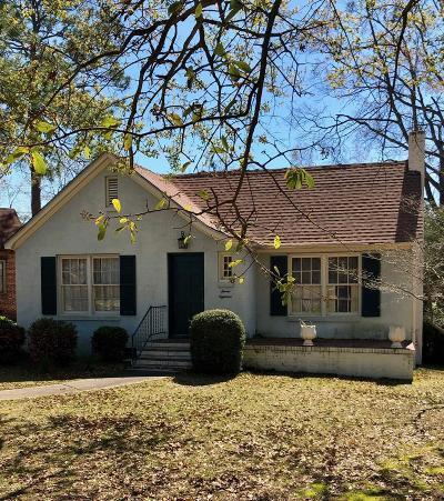 Lake Blackshear, Cordele, Warwick, Arabi, Ashburn, Rebecca, Sycamore Single Family Home For Sale: 718 E 15th Avenue