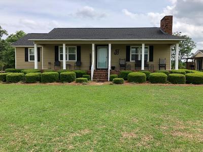Ocilla, Irwinville, Chula, Wray , Abbeville, Fitzgerald, Mystic, Ashburn, Sycamore, Rebecca Single Family Home For Sale: 1285 Sibbie Rd
