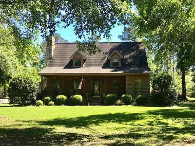 Lake Blackshear, Cordele, Warwick, Arabi, Ashburn, Rebecca, Sycamore Single Family Home For Sale: 243 Lakeshore Drive