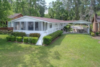 Lake Blackshear, Cordele, Warwick, Arabi, Ashburn, Rebecca, Sycamore Single Family Home For Sale: 318 S Cedar Creek Rd