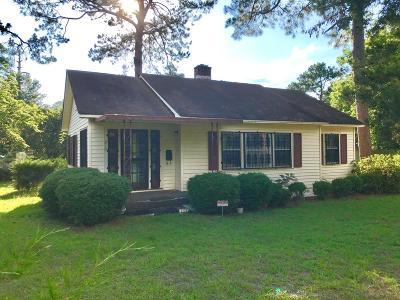 Lake Blackshear, Cordele, Warwick, Arabi, Ashburn, Rebecca, Sycamore Single Family Home For Sale: 810 S 4th St