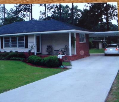 Lake Blackshear, Cordele, Warwick, Arabi, Ashburn, Rebecca, Sycamore Single Family Home For Sale: 1104 Camellia Dr