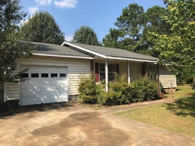 Lake Blackshear, Cordele, Warwick, Arabi, Ashburn, Rebecca, Sycamore Single Family Home For Sale: 152 Hannah Branch Road