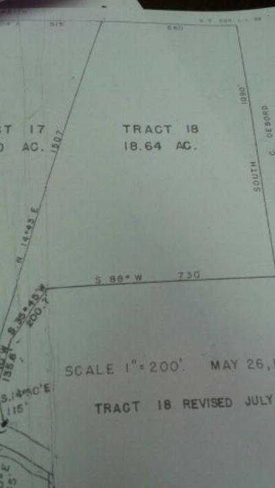 Chatsworth, Eton Residential Lots & Land For Sale: 000 Old Ccc Camp Road