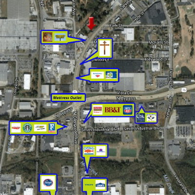 Catoosa County, Whitfield County, Murray County Commercial For Sale: 1607 Cleveland Hwy