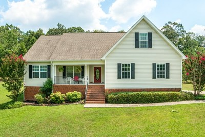 Ringgold Single Family Home For Sale: 2883 Davis Ridge Road
