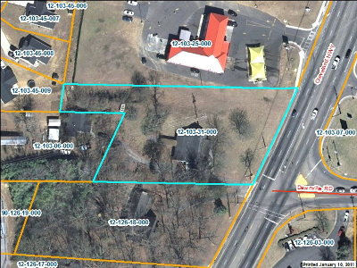 Catoosa County, Whitfield County, Murray County Commercial For Sale: 2201 Cleveland Hwy