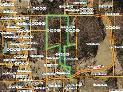 Chatsworth, Eton, Cohutta, Varnell, Dalton, Ringgold, Rocky Face, Tunnel Hill Residential Lots & Land For Sale: 000 Adams Rd