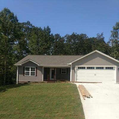 Dalton Single Family Home For Sale: 171 Creek's Edge Way