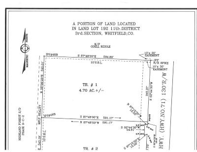 Cohutta, Varnell Residential Lots & Land For Sale: Cleveland Hwy