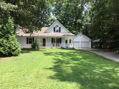 Rocky Face Single Family Home For Sale: 2624 Oak Ridge Drive