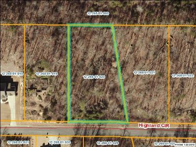 Rocky Face, Tunnel Hill Residential Lots & Land For Sale: Lot 20 Highland Circle