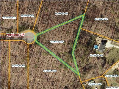 Rocky Face, Tunnel Hill Residential Lots & Land For Sale: Lot 25 Highland Circle