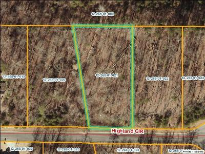 Rocky Face, Tunnel Hill Residential Lots & Land For Sale: Lot 21 Highland Circle