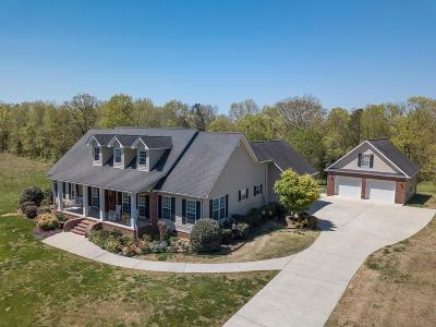 Tunnel Hill Single Family Home For Sale: 348 W Homeplace Drive