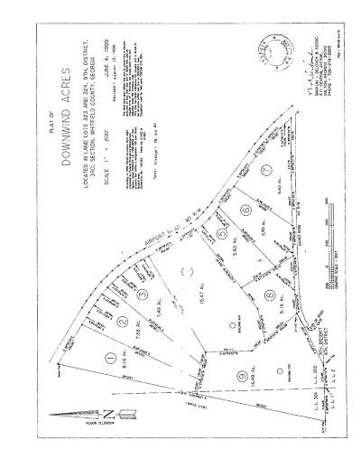 Chatsworth, Eton, Cohutta, Varnell, Dalton, Ringgold, Rocky Face, Tunnel Hill Residential Lots & Land For Sale: 00 Airport Road