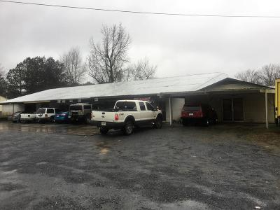 Catoosa County, Whitfield County, Murray County Commercial For Sale: 1293 Dawnville Road
