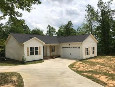 Chatsworth GA Single Family Home For Sale: $174,900