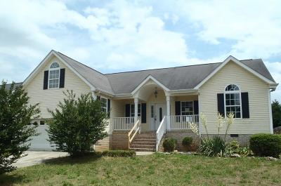 Ringgold Single Family Home For Sale: 168 Bluff View Drive