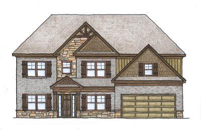 Fortson Single Family Home For Sale: Lot 77 Hart Ridge Court