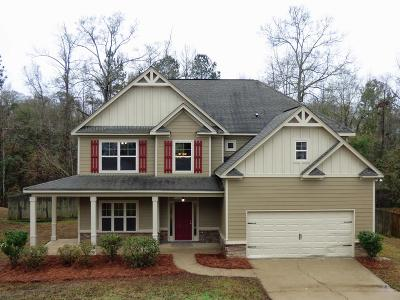 Phenix City Single Family Home For Sale: 69 Misty Forest Drive