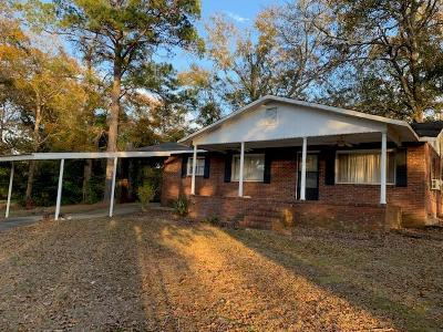 Phenix City AL Single Family Home For Sale: $69,000