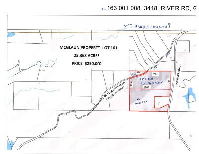 Fortson Residential Lots & Land For Sale: 3418 Old River Road