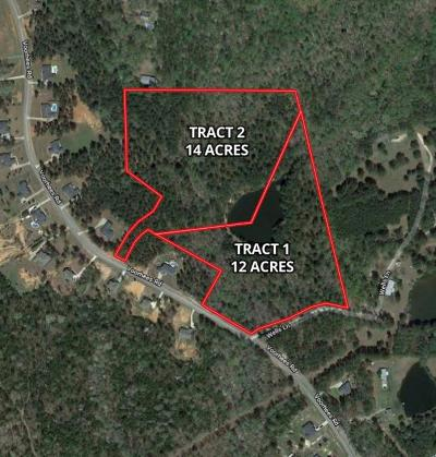 Harris County Residential Lots & Land For Sale: Tract 1 Voorhees Road