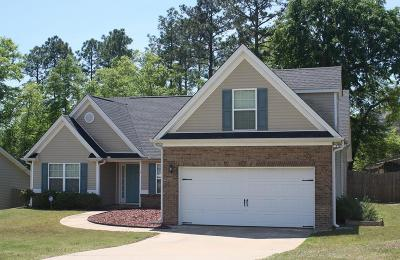 Phenix City Single Family Home For Sale: 4 Woodmere Court