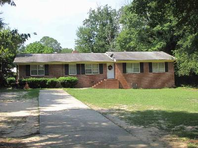 Perry Single Family Home For Sale: 1412 Main Street