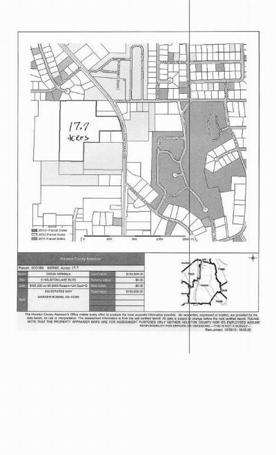 Centerville Residential Lots & Land For Sale: Houston Lake Blvd
