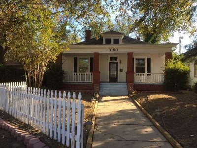 Macon Single Family Home For Sale: 3180 Ridge Avenue