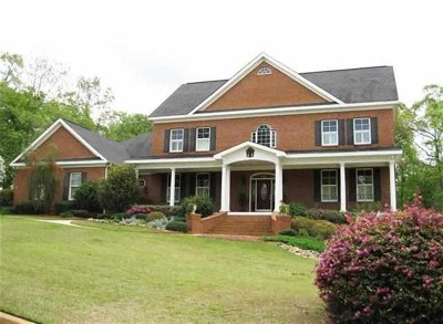 Warner Robins GA Single Family Home For Sale: $449,000