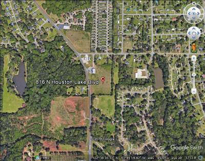 Centerville Residential Lots & Land For Sale: 816 Houston Lake