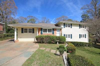 Bibb County, Crawford County, Houston County, Peach County Single Family Home For Sale: 118 Benton