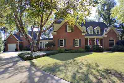Perry Single Family Home For Sale: 1032 Cherokee