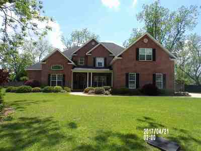 Warner Robins Single Family Home For Sale: 206 Old Bridge