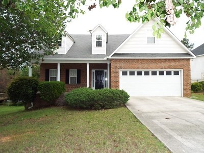 Macon Single Family Home For Sale: 152 The Masters Cove
