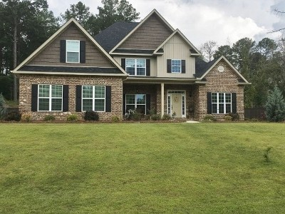 Bibb County, Crawford County, Houston County, Peach County Single Family Home For Sale: 119 Wilsons Creek Bend