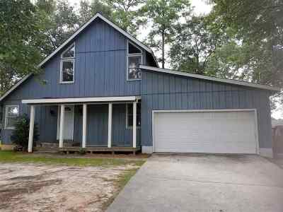 Perry Single Family Home For Sale: 1745 Houston Lake