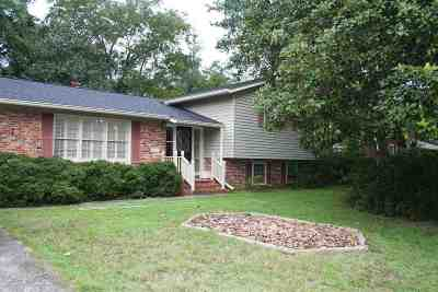 Perry Single Family Home For Sale: 823 Forest