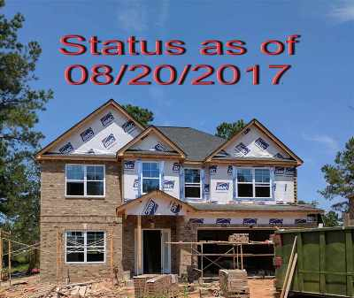 Kathleen Single Family Home For Sale: Lot 72 Hawk's Nest